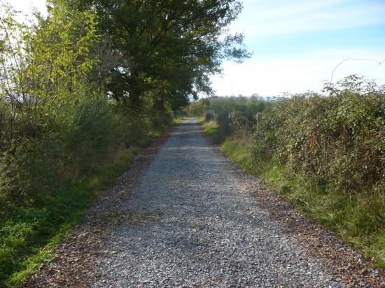 Chemin des Places réparé à l'automne 2008